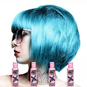 4 x Crazy Colour Blue Jade by Renbow by Crazy Color de la marque Crazy Color image 0 produit