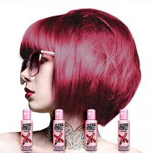 4 x Crazy Colour Ruby Rouge by Renbow by Crazy Color de la marque Crazy Color image 0 produit