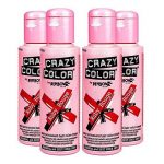 4 x Crazy Colour Ruby Rouge by Renbow by Crazy Color de la marque Crazy Color image 1 produit