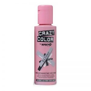 Crazy Color Coloration Fugace Argent 100 ml de la marque Crazy-Color image 0 produit