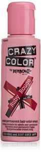 Crazy Color Renbow Semi-Permanent Hair Colour Cream Dye 100ml-Ruby Rouge de la marque Crazy Color image 0 produit