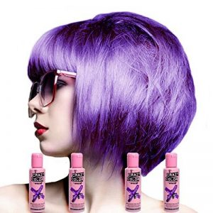 Crazy Colour Semi Permanent Hair Dye By Renbow Hot Purple No.62 (100ml) Box of 4 de la marque Crazy Color image 0 produit