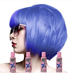 Crazy Colour Semi Permanent Hair Dye By Renbow Lilac No.55 (100ml) Box of 4 de la marque Crazy Color image 0 produit