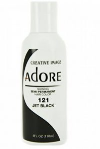 Creative Image Adore Shining Semi-Permanent Hair Color 121 Jet Black 118ml de la marque Creative Image Adore image 0 produit