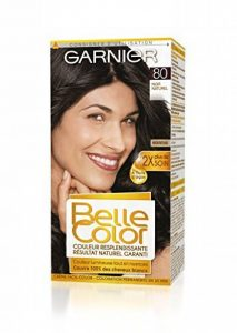Garnier - Belle Color - Coloration permanente Noir - 80 Noir naturel Lot de 2 de la marque Garnier image 0 produit