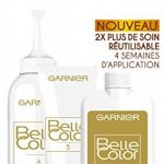 Garnier - Belle Color - Coloration permanente Noir - 80 Noir naturel Lot de 2 de la marque Garnier image 3 produit