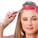 Hot Huez 4 Pack Temporary Bright Coloured Hair Chalk Kit de la marque Hot Huez image 3 produit
