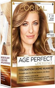 L'Oréal Paris - Excellence Age Perfect - Coloration Permanente Cheveux Matures & Très Blancs - Nuance 7,31 Blond Caramel de la marque L'Oréal Paris image 0 produit