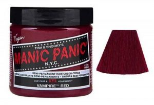 Manic Panic Amplified Coloration Cheveux Semi Permanente Vibrante 118ml (Vampire Red - Rouge) de la marque Blue Banana image 0 produit