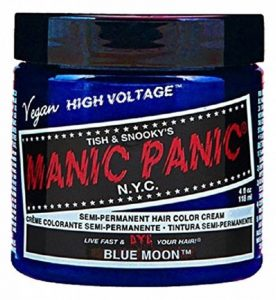 Manic Panic High Voltage Classic Coloration Cheveux Semi Permanente Vibrante 118ml (Blue Moon - Bleu) de la marque Manic Panic image 0 produit