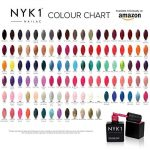 NYK1 Professional Nail Polish Gel Colour AZTEK GOLD - UV and LED Drying Curing Polishes, Quick Soak Off Extra Fill 10ml. Over 100 Nailac Colours to Choose from. by NYK1 de la marque NYK1 image 1 produit