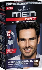 Schwarzkopf - Men Perfect - Gel Colorant Anti-Cheveux Blancs - Brun Naturel 80 de la marque Schwarzkopf image 0 produit